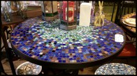 Mosaic Tile Outdoor Table - Outdoor Designs