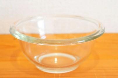 PYREX製の ガラスボウル