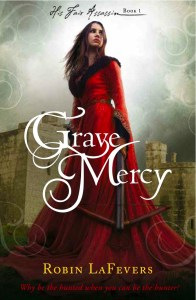 Grave Mercy by Robin La Fevers, Very Dark YA Fantasy Indeed
