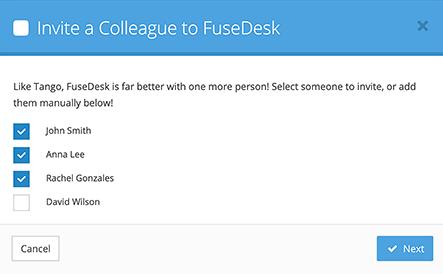 Invite ActiveCampaign Users to FuseDesk