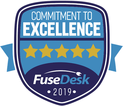 FuseDesk Commitment To Excellence Award