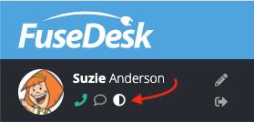 FuseDesk Dark Mode Option