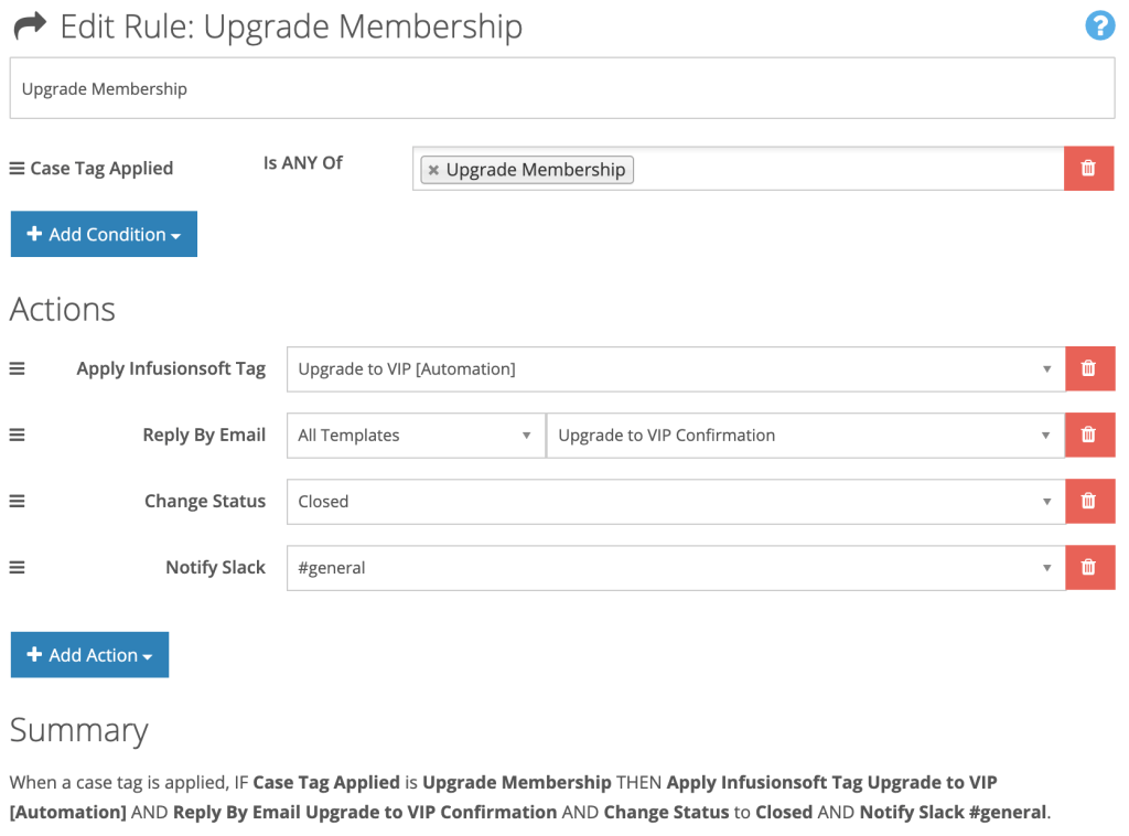 Membership Upgrade Automation