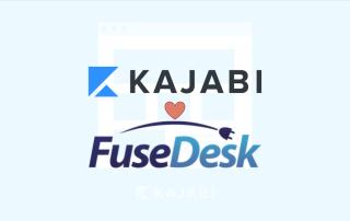 Kajabi Live Chat with FuseDesk