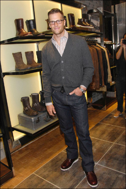 Tom Brady for UGGs & Gayle King for Girard-Perregaux