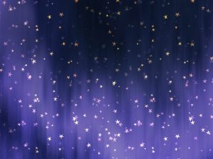 Aurora stars mural wallpaper design