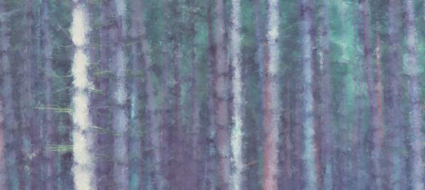 Deep forest mural wallpaper