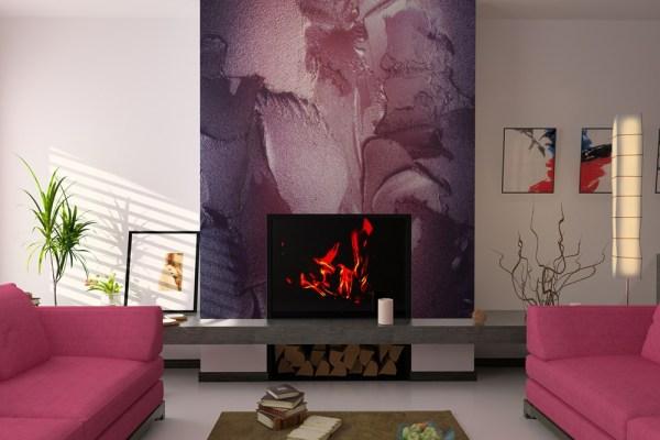 ochre abstract wallpaper