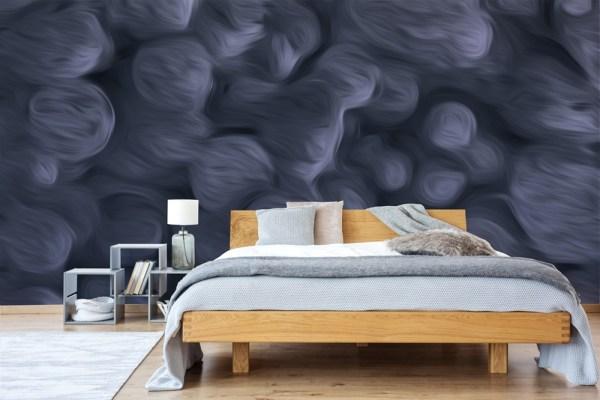 abstract wallpaper mural dark