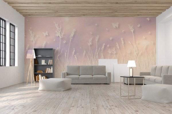 3d butterfly wallpaper mural