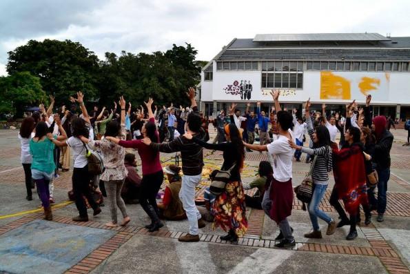 En la danza y en el canto somos UN Eco Vital!
