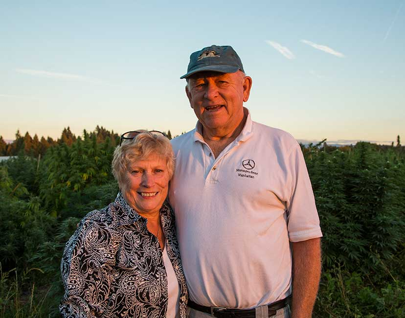family owned hemp and CBD farms
