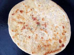 Spicy Indian Parathas!