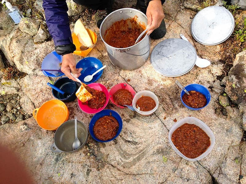 Backpacking Chili in The Wind River Range
