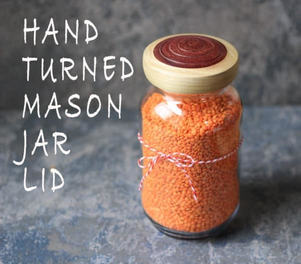 Handmade Mason Jar Lid by Craftiness.Etsy
