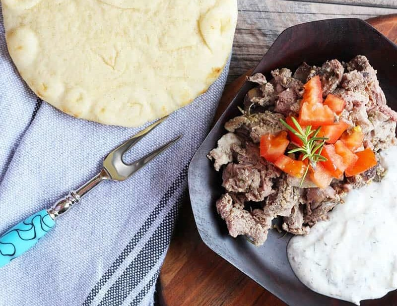 How To Make Gyros, an easy homemade version that everyone can do, SO TASTY, yum! This is your new challenge, learn to make Greek Food! | FusionCraftiness.com