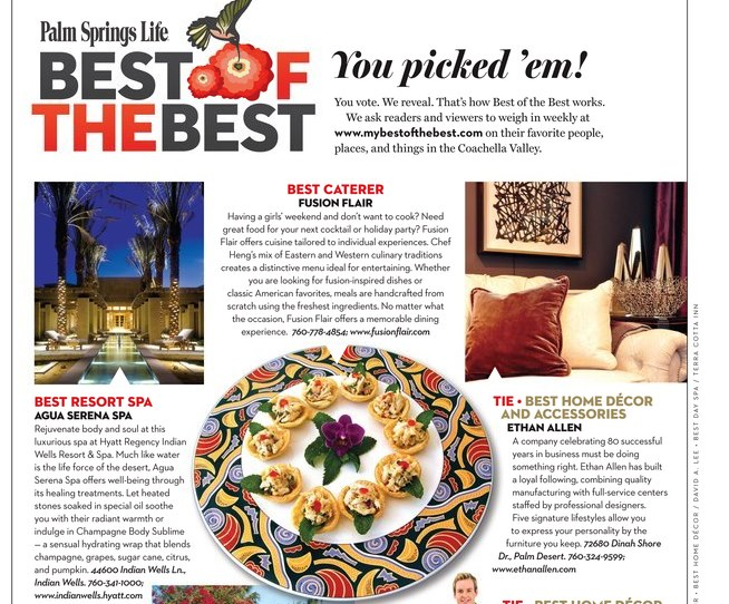 Best of the Best Article Palm Springs Life