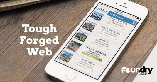 Foundry by Fusion: High impact, low cost websites.
