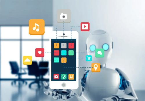 Role of Artificial Intelligence in Mobile App Development