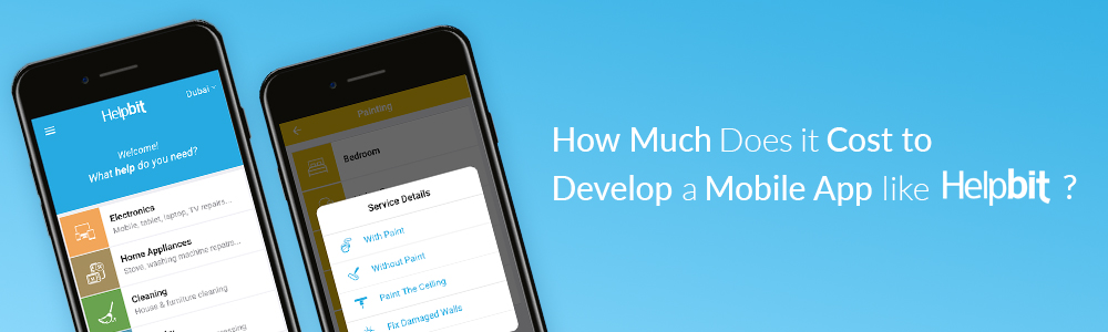 How Much Does it Cost to Develop a Mobile App like Helpbit?