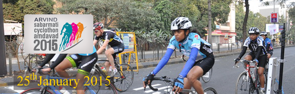 Arvind Sabarmati Cyclothon 25th January 2015 Blog