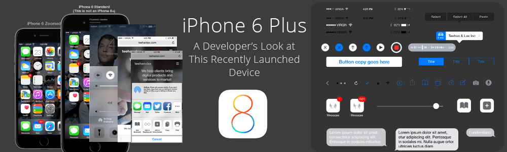 iPhone 6 Plus - a Developer's Look at This Recently Launched Device