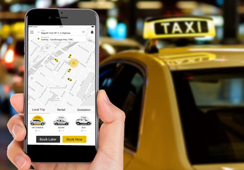Image result for Taxi Mobile App