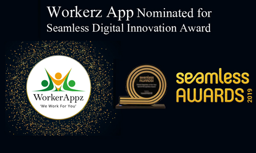 Workerz App Nominated for seamless digital innovation award