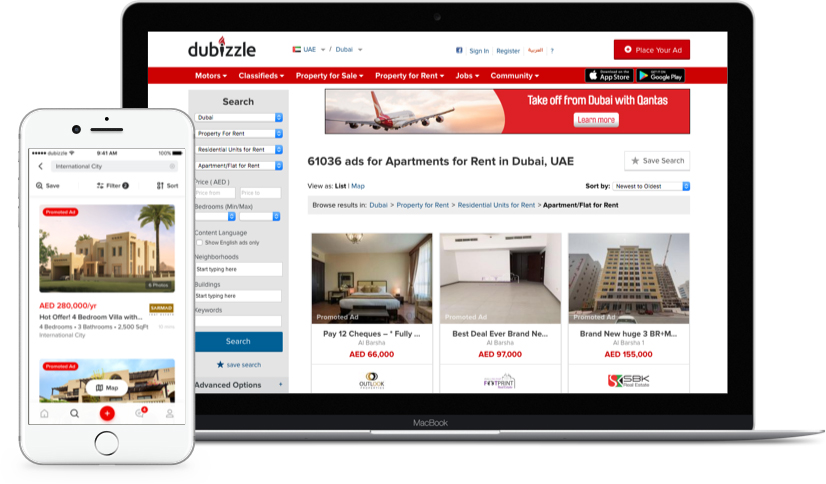 How Much does a Classified App like Dubizzle cost?