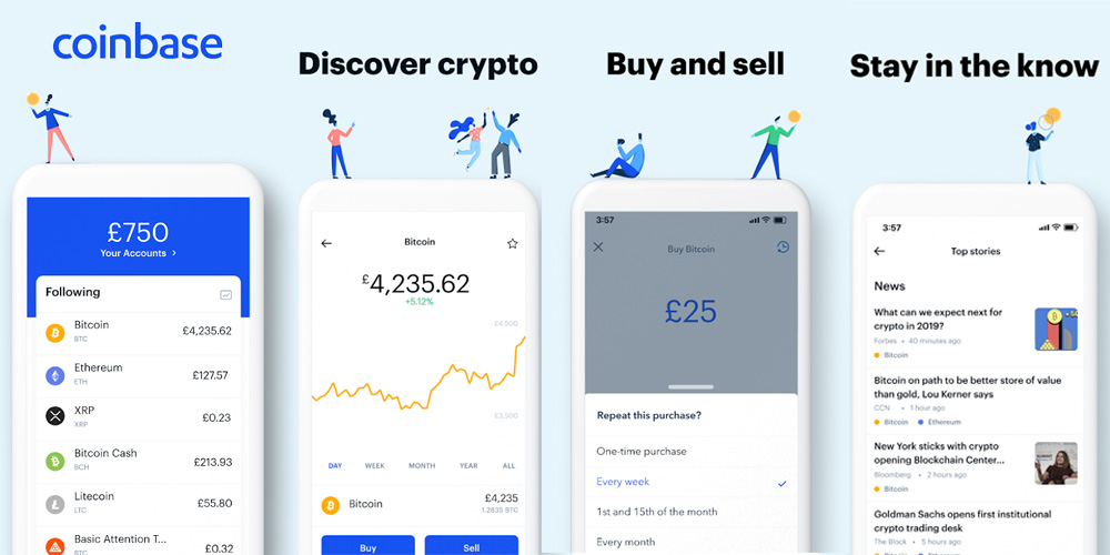 Cost to Develop Cryptocurrency Exchange App like Coinbase