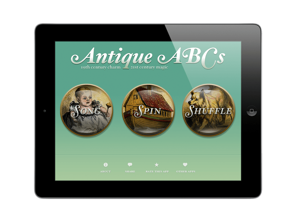 Antique ABCs iOS app