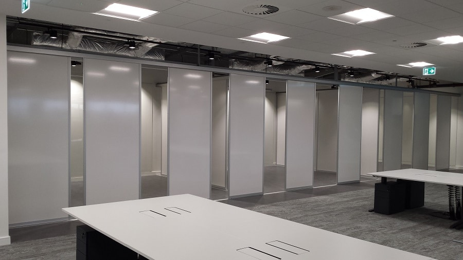 Whiteboard Sliding Rail System in Chicago  Fusion Office