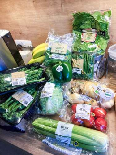 food grocery shopping uk