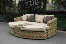 Outdoor Patio Furniture Daybed Sofa