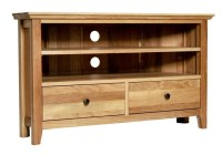 Ashley OAK Furniture Corner TV Stand Nest OF Tables Lamp ...