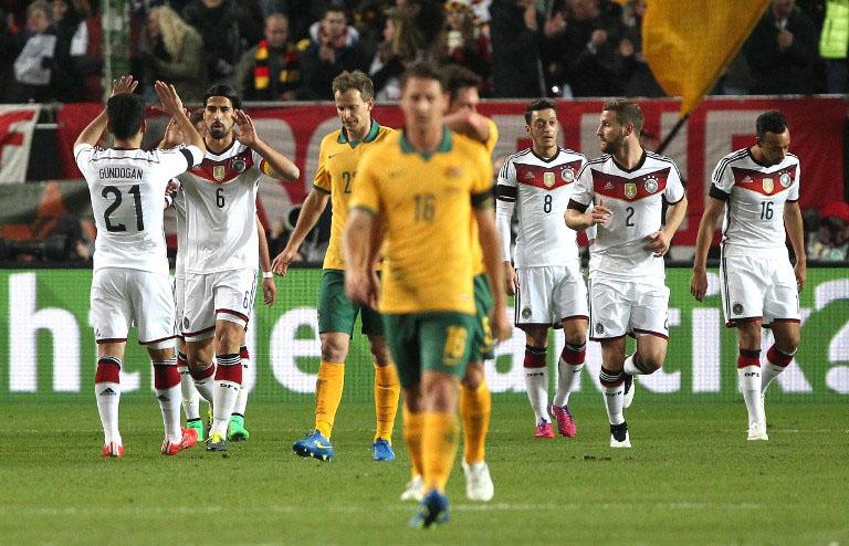 Australische Fußballnationalmannschaft Aufstellung