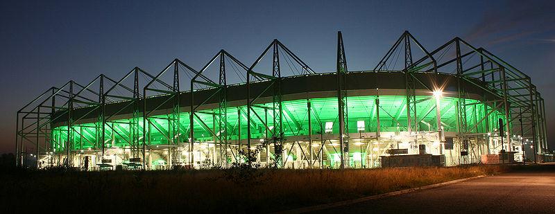 borussia park fussballstadion in
