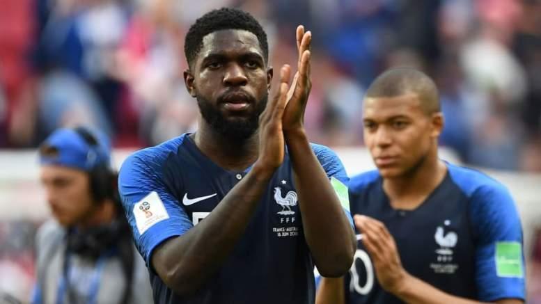 Nach Handspiel Frankreich Verteidiger Umtiti Nimmt Seinen Fauxpas