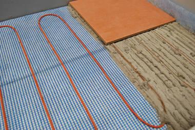 Elektro Fußbodenheizung. Elektro Fu Bodenheizung D Nne Heizfolie