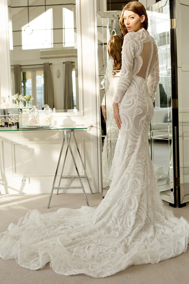 Wedding Dresses With Back Detail for 2014