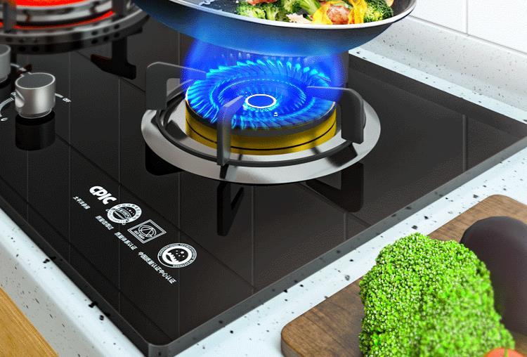 kitchen stove gas folding island 煤气灶厂家qs058炉灶具 燃气炉灶具厂家