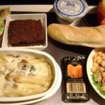 エアフランスの機内食