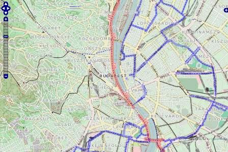 budapest kerékpárutak térkép Ausztria kerékpáros térkép | Budapest kerékpárutak kerékpáros  budapest kerékpárutak térkép