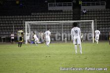 Penalti a favor del Zamora F.C. cobrado por Yeferson Soteldo