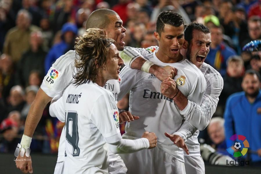 Cristiano marcó en el último clásico en el Camp Nou, hoy será titular. Foto: LaLiga