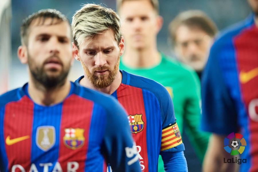 Lio Messi, capitán, lidera un equipo que llega urgido de puntos y con la necesidad de reafirmar su localía. Foto: LaLiga