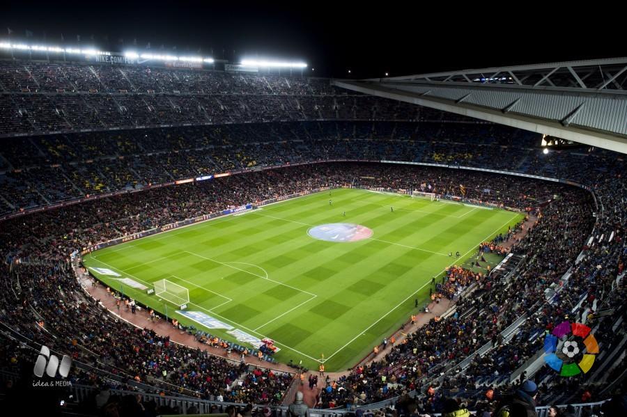 El Camp Nou de Barcelona, sede de 'El Clásico'. Foto: LaLiga