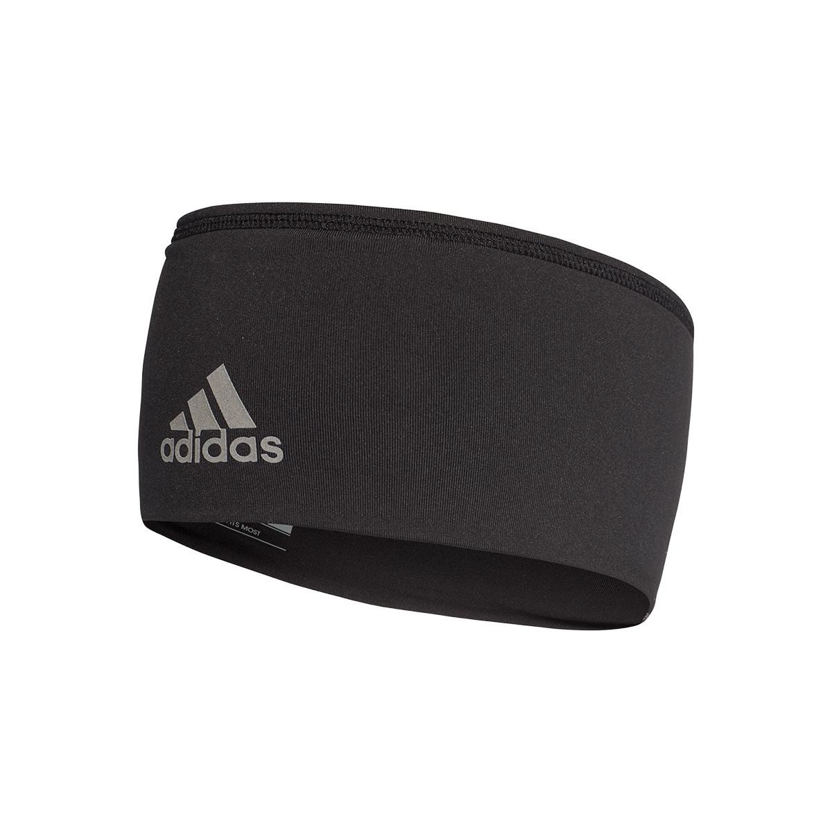 Fita adidas Headband Wide Black-Reflective silver - Loja de futebol Fútbol Emotion