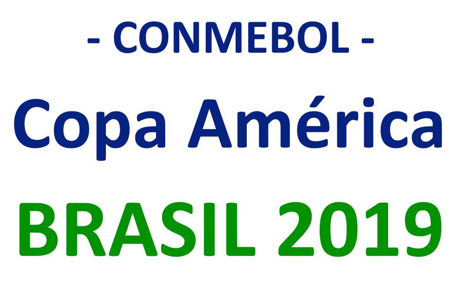 Copa América 2019 en Brasil organizada por la CONMEBOL