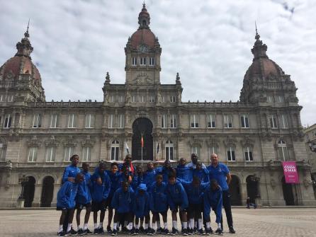XV Torneo Internacional Infantil de Fútbol 7 de Carballo 2019. AFA Campeón. Equipo 11